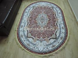 Ковер Farsi 1358a pink pink oval