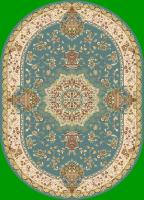 Ковер PERSIAN YASIN 5695A_BLUE_IVORY oval