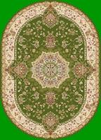 Ковер PERSIAN YASIN 5695A_Green_IVORY oval